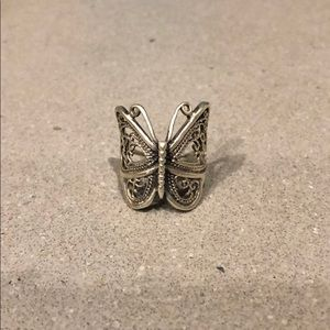 Vintage American Eagle butterfly ring, 6